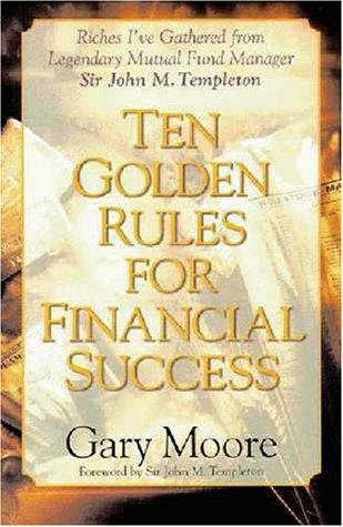 9780310219330: Ten Golden Rules for Financial Success