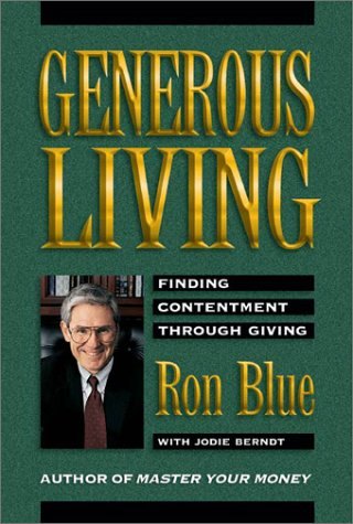 Generous Living (0310223997) by Ron Blue