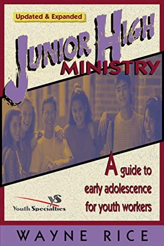 9780310224426: Junior High Ministry