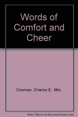 9780310225515: Words of Comfort and Cheer