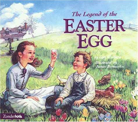 9780310227410: The Legend of the Easter Egg