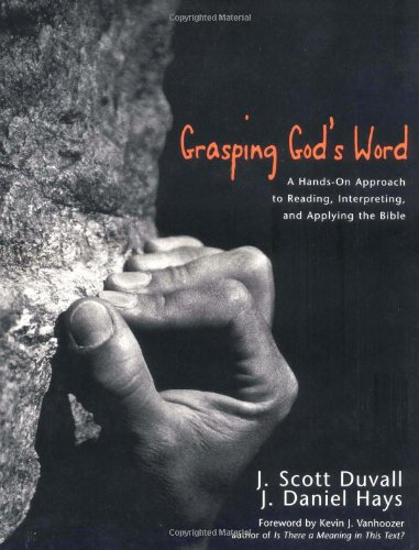 9780310228325: Grasping God's Word