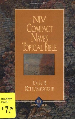 9780310228691: NIV Compact Nave's Topical Bible