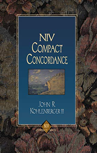 NIV Compact Concordance (9780310228721) by John R. Kohlenberger III; Edward W. Goodrick