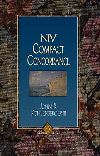 9780310228721: NIV Compact Concordance
