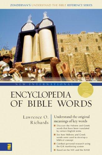 9780310229124: New International Encyclopedia of Bible Words