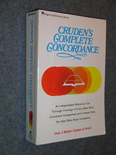 9780310229216: Cruden's Complete Concordance
