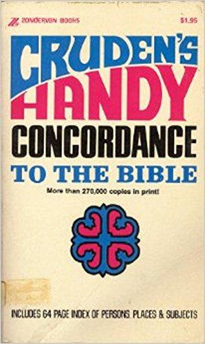 Cruden's Handy Concordance to the Bible: Alexander Cruden