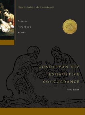 9780310229971: Zondervan Niv Exhaustive Concordance (Premier S.)
