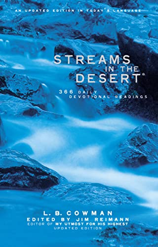 9780310230113: Streams in the Desert: 366 Daily Devotional Readings, An Updated Edition in Today's Language