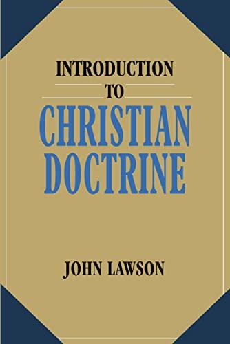 Introduction to Christian Doctrine: John Lawson