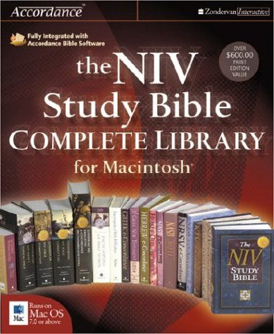 9780310233121: NIV Study Bible Complete Library for Macintosh®, The