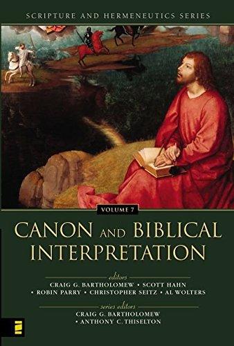 9780310234173: Canon And Biblical Interpretation (Scripture and Hermeneutics Series, V. 7)