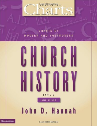 Charts of Modern and Postmodern Church History (ZondervanCharts): Hannah, John D.