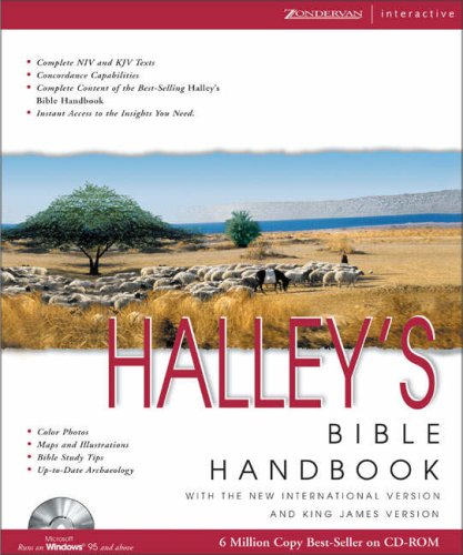 9780310236405: Halley's Bible Handbook for Windows