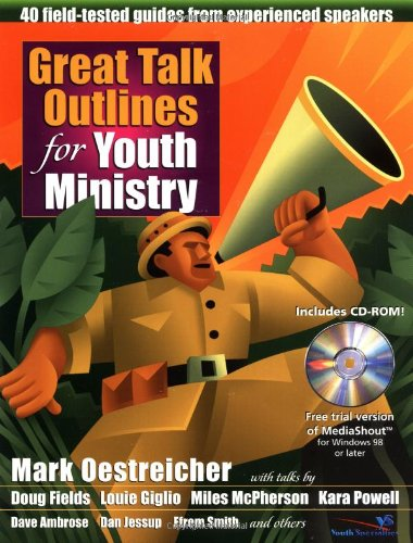 9780310238225: Great Talk Outlines for Youth Ministry