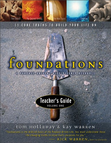 9780310240747: Foundations Teacher's Guide Volume 1