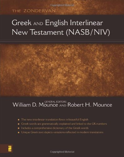 9780310241393: The Zondervan Greek and English Interlinear New Testament (NASB/NIV)