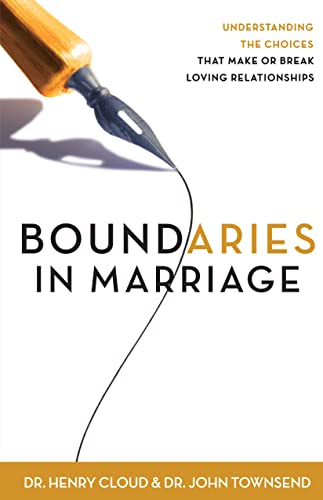 9780310243144: Boundaries in Marriage