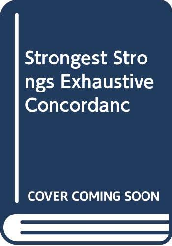9780310243502: Strongest Strongs Exhaustive Concordanc