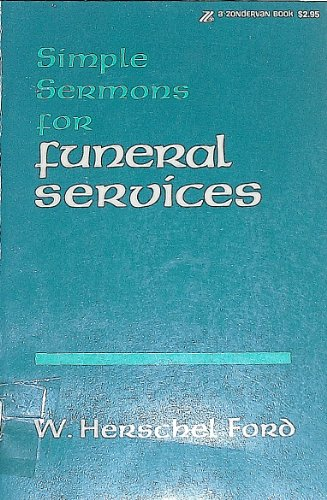 9780310244615: Simple Sermons for Funeral Services