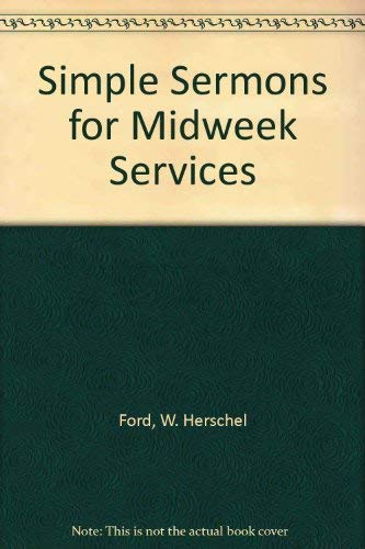 9780310245315: Simple Sermons for Midweek Services