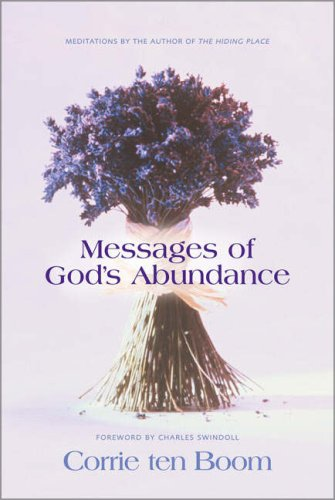 9780310245704: Messages of God's Abundance