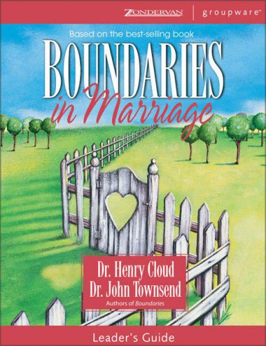 9780310246145: Boundaries in Marriage Leader's Guide