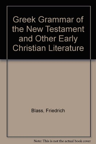9780310247807: Greek Grammar of the New Testament and Other Early Christian Literature