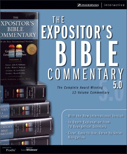 9780310248378: The Expositor's Bible Commentary 5.0 for Windows: The Complete Award-winning 12-volume Commentary