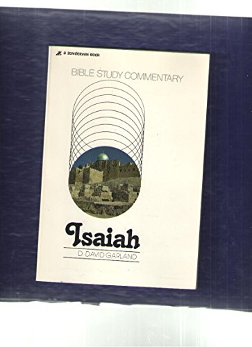 9780310248538: Isaiah; A Study Guide,