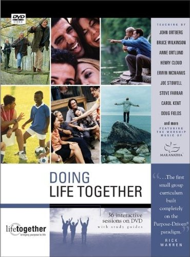 9780310250029: Doing Life Together DVD Curriculum: A Purpose Driven Group Resource