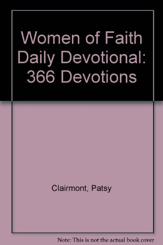 9780310250203: Women of Faith Daily Devotional: 366 Devotions