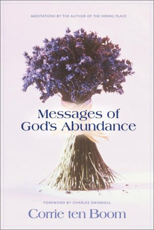 9780310252917: Messages of God's Abundance: Meditations