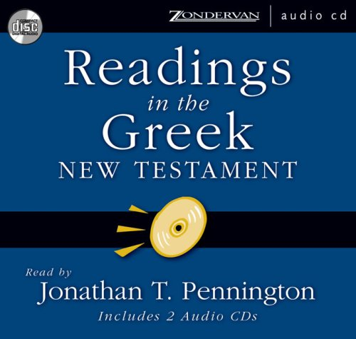 9780310253228: Readings in the Greek New Testament: Includes 2 Audio CDs