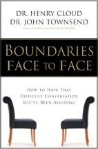9780310255338: Boundaries Face to Face: How to Have That Difficult Conversation You've Been Avoiding