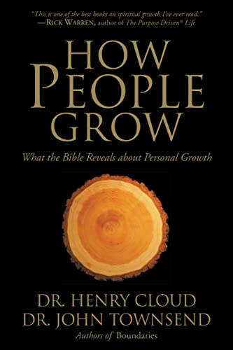 9780310257370: How People Grow: What the Bible Reveals About Personal Growth