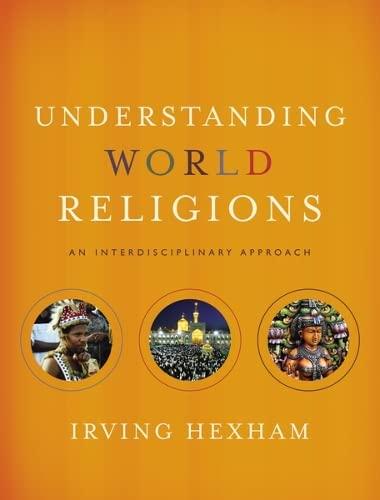 9780310259442: Understanding World Religions: An Interdisciplinary Approach