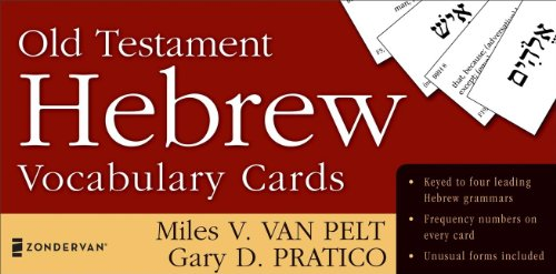 9780310259862: Old Testament Hebrew Vocabulary Cards (The Zondervan Vocabulary Builder Series)