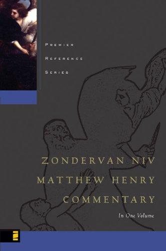 9780310260400: Zondervan NIV Matthew Henry Commentary