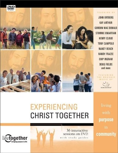 9780310261889: Experiencing Christ Together: 36 Interactive Sessions on DVD with Study Guides