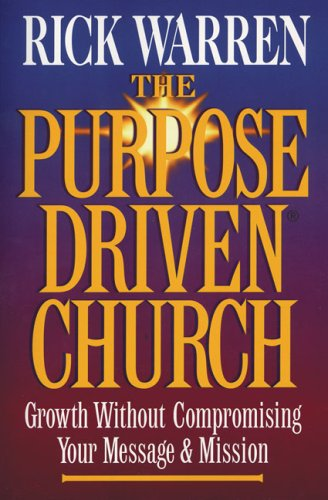 9780310262589: Purpose-driven Church, The