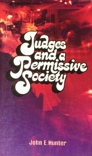 9780310264323: Judges and a Permissive Society