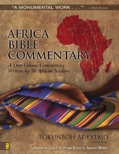 9780310264736: Africa Bible Commentary: A One-Volume Commentary Written by 70 African Scholars