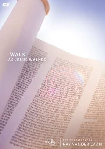 9780310271161: Walk as Jesus Walked (Faith Lessons, Vol. 7): 5 Faith Lessons