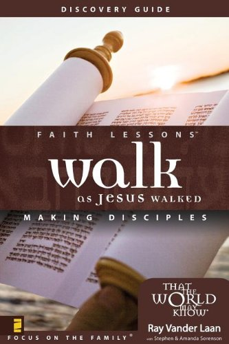 9780310271178: Walk as Jesus Walked Discovery Guide: 5 Faith Lessons