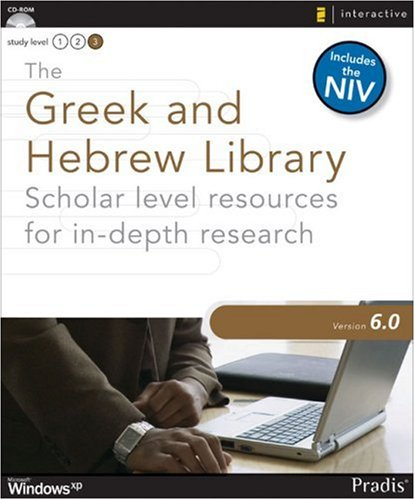 9780310274537: The Greek and Hebrew Library 6.0 for Windows: Scholar Level Resources for In-depth Research