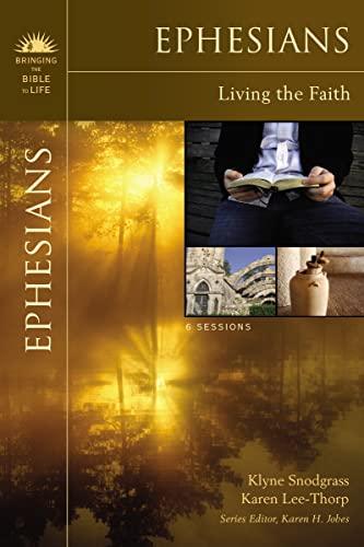 9780310276548: Ephesians: Living the Faith