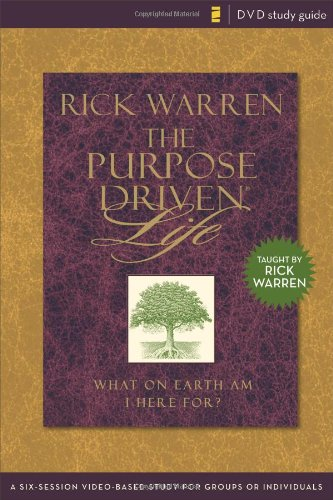 9780310278665: Purpose Driven Life Study Guide: A Six-Session Video-Based Study for Groups or Individuals (Purpose Driven Life, The)