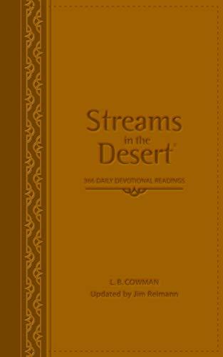 9780310285892: Streams in the Desert: 366 Daily Devotional Readings